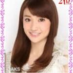 【AKB総選挙2013第2位】大島優子のキュートな画像でパズル!